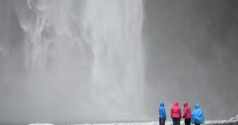 Naturgewalten in Island