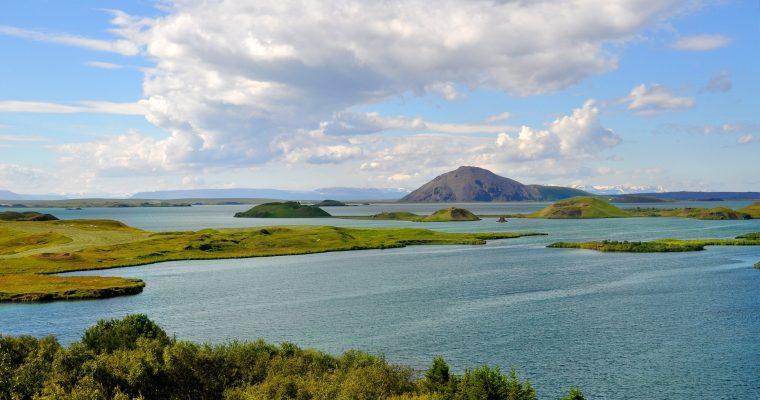 Der Mývatn See in Island